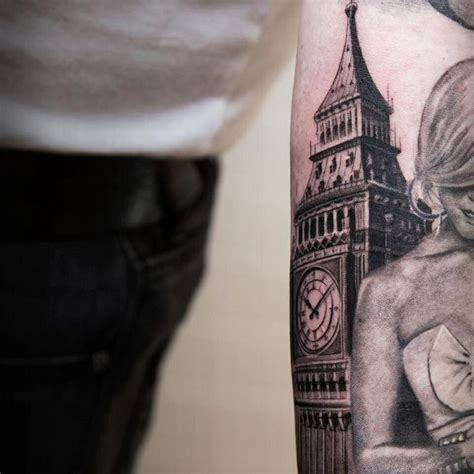 32 big ben tattoos