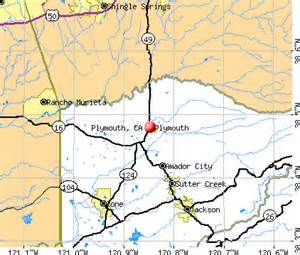 plymouth california ca 95669 profile population maps
