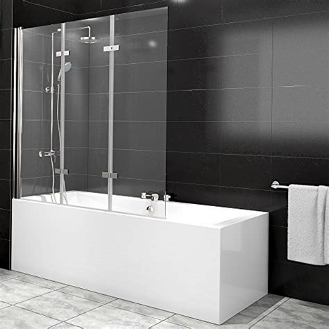 duschtrennwand badewanne glas duschabtrennung badewanne duschwand badewannenfaltwand