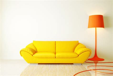 modern yellow sofa modern style sofa floor l with yellow sofa and orange