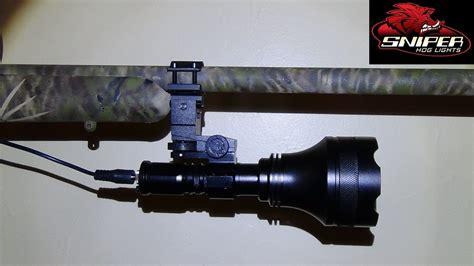 gun mounted predator lights sniper hog lights 66lrx gun hunters package green color d