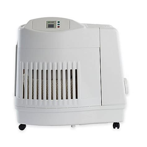 bed bath beyond humidifier essick air aircare evaporative humidifier in white bed