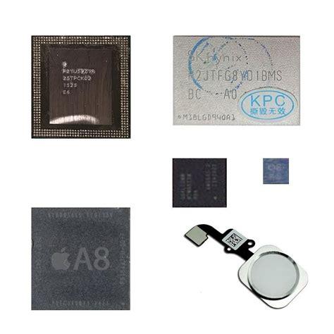 Ic Eeprom 0852 Iphone 6 S 6s Plus 1 remove icloud ic chip kits cpu ram baseband eeprom homebutton nand ebay