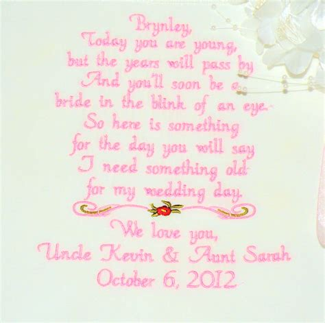 Flower Poem Wedding by Flower Wedding Poem Lace By Canyonembroidery