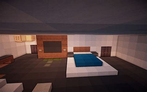 minecraft master bedroom the gallery for gt minecraft modern house bedroom