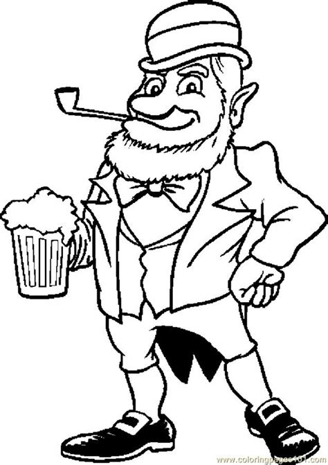 Get This Online Leprechaun Coloring Pages A9m0j Leprechaun Coloring Pages Free