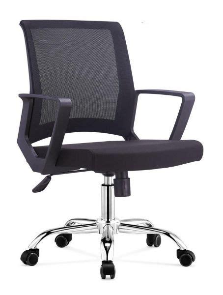 Office Chair Souq by Souq Office Mix Mesh Back Chair C2601 Black