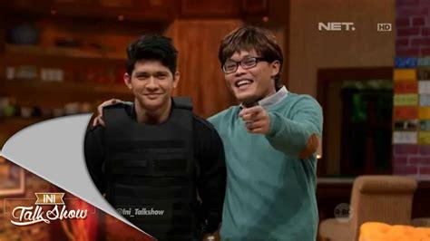film terbaru iko uwais youtube ini talk show film indonesia part 1 2 iko uwais dan