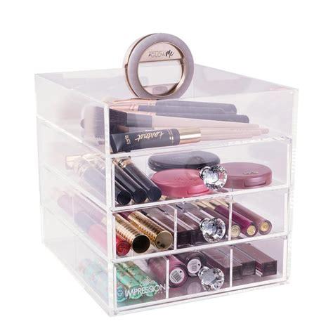 collection 4 tier acrylic makeup organizer