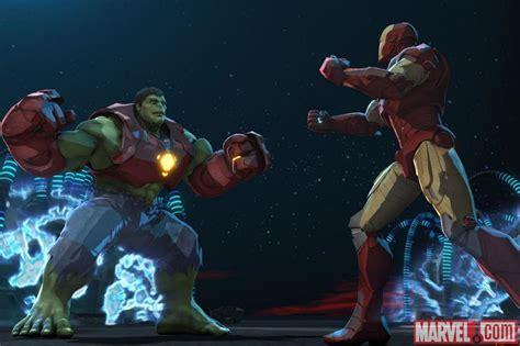 hulk armor featured iron man hulk heroes united