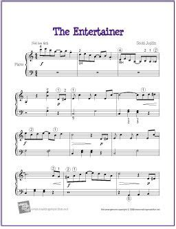 tutorial piano the entertainer 17 best images about music on pinterest sheet music