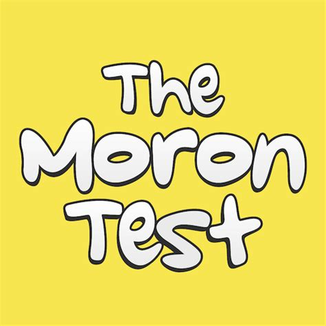 the moron test apk the moron test version 3 47 apk for android softstribe apps