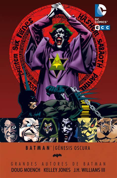 grandes autores de batman grandes autores de batman doug moench y kelly g 233 nesis oscura ecc c 243 mics