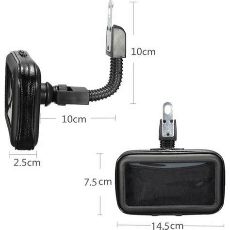 microcase motorsiklet dikiz aynasi   telefon tutucu
