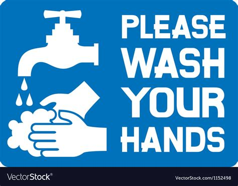 Free Wash Your Signs Printable