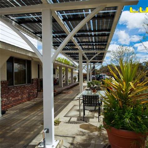 Patio Covers Denver by Lumos Lsx Solar Patio Covers Awnings