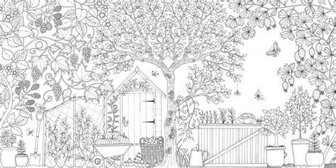 secret garden inky coloring book color and explore with secret garden an inky treasure