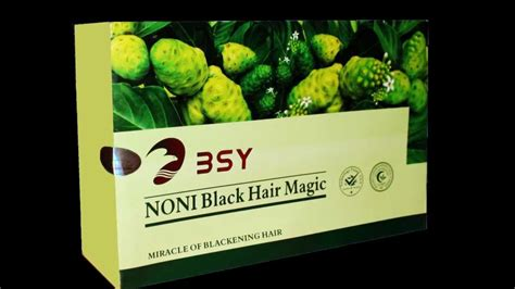 Sho Bsy Noni Black Hair Magic bsy noni black hair magic shoo wmv