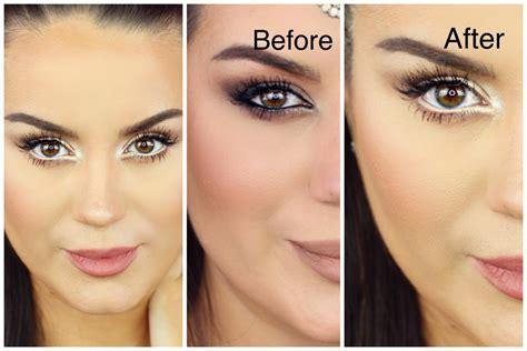 eyeliner tutorial to make eyes look bigger how to make eyes look bigger neutral smokey eye makeup