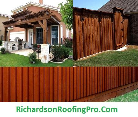 fence repair  richardson tx fence  deck builder