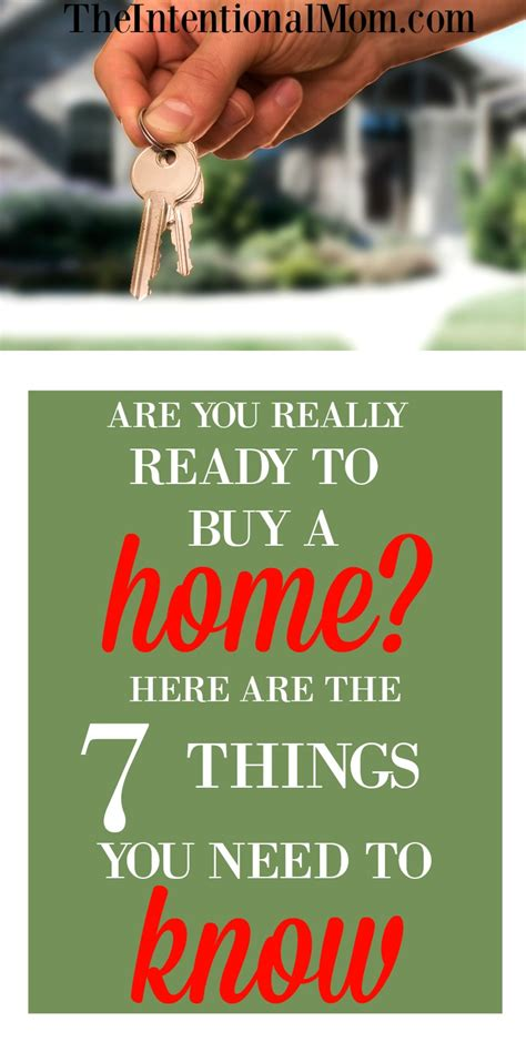 things i need to know when buying a house are you really ready to buy a home here are 7 things you need to know