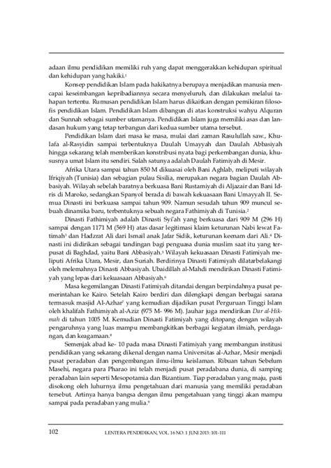 Eksistensi Islami 09 eksistensi pendidikan islam di mesir center