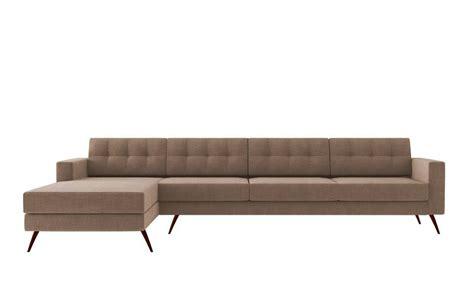 sofa moderno sof 225 novo moderno living chaise p 233 palito 4 lugares bege