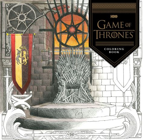thrones colouring book australia official hbo of thrones coloring book coming from