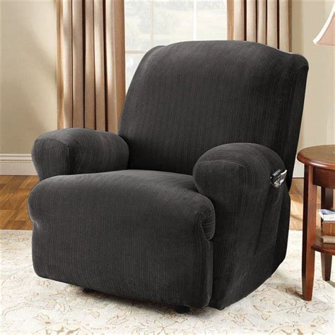 black recliner cover black recliner slipcover home furniture design