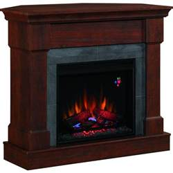 franklin 42 inch electric fireplace brown cherry