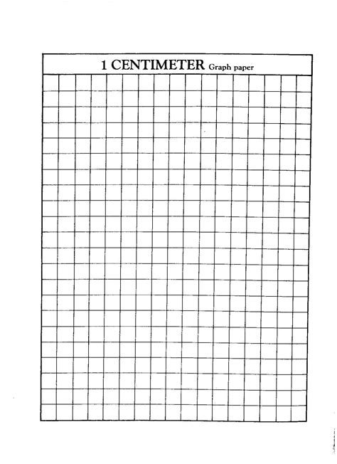centimeter graph paper 1 centimeter graph paper 5th grade math and misc