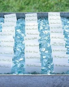 A Sea Of Placecards by Ultimate Prom Poseidon S Paradise On The