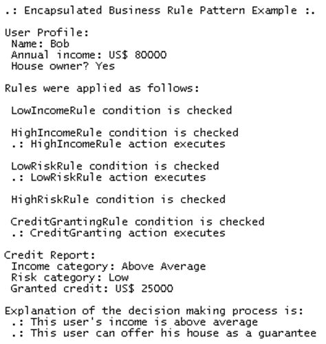 rule based pattern business rules pattern 187 patterns gallery