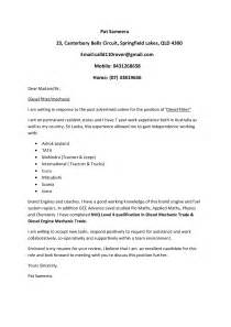 Diesel Technician Cover Letter by Best Photos Of Diesel Technician Resume Diesel Mechanic Resume Template Diesel Mechanic