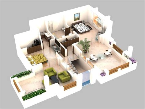 plan 3d 17 best images about 3d plans on house plans
