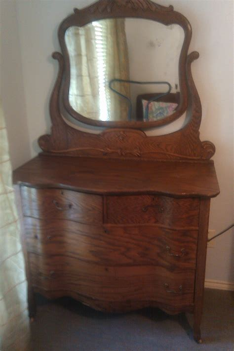 Dresser Antique by Dresser With Mirror For Sale Antiques Classifieds