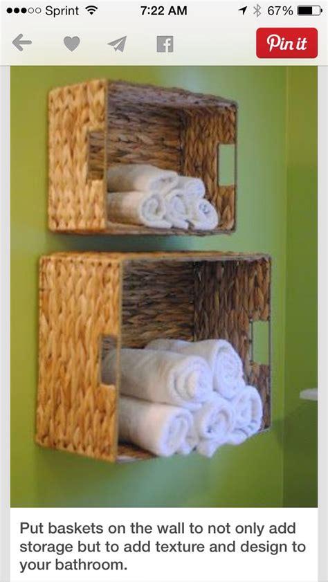 hang baskets on bathroom wall bathroom hang baskets on the wall to add storage decor