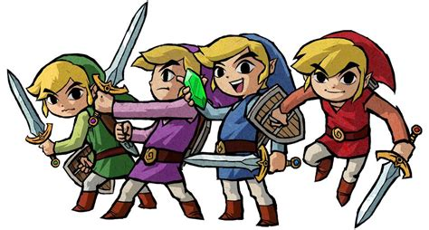 legend of four swords triforce of courage the links of history goomba stomp