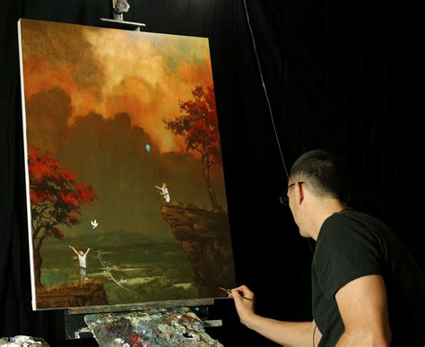 painting free play the last flight through the sky a dvd acrylic painting