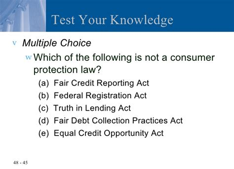 fair debt collection practices act section 809 b chapter 48 the federal trade commission act and consumer
