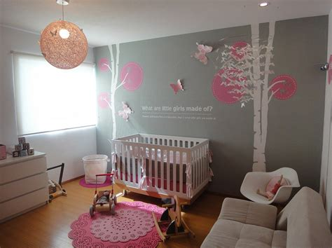 Gray And Pink Nursery Decor Nursery