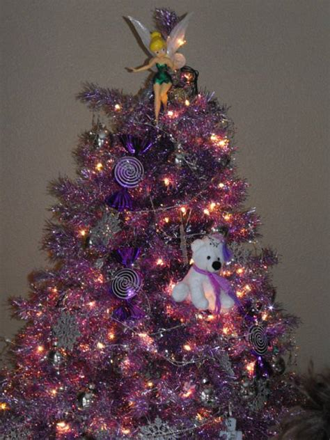 pictures of decorated purple christmas trees purple tree treetopia