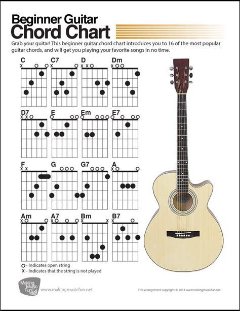 tutorial for guitar chords best 25 beginner guitar chords ideas on pinterest