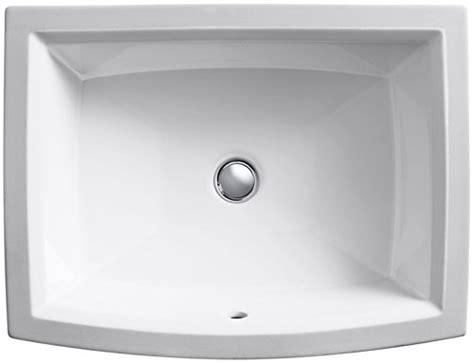 Kohler K 2355 0 Archer Undercounter Bathroom Sink White Buy Online In Uae Tools Home Kohler Archer Undermount Sink Template