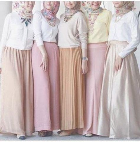 Baju Muslim Wanita Pastel Dress I 10 trend warna pastel pada baju muslim terbaru