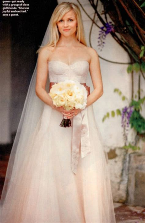 Reese Witherspoon Wedding Gown top 10 wedding dresses of all time s