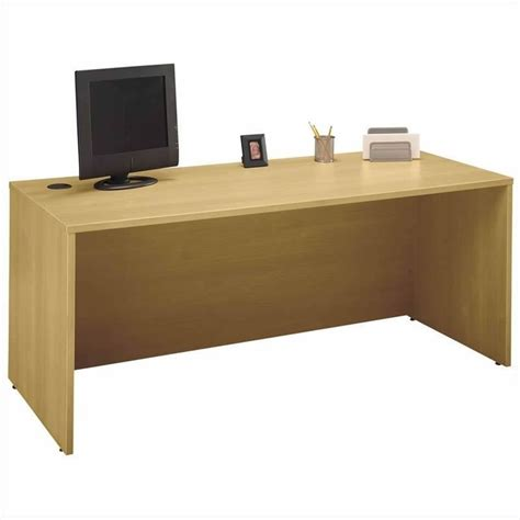 C Shaped Desk Bush Business Series C Light Oak U Shaped Desk Bsc012 603