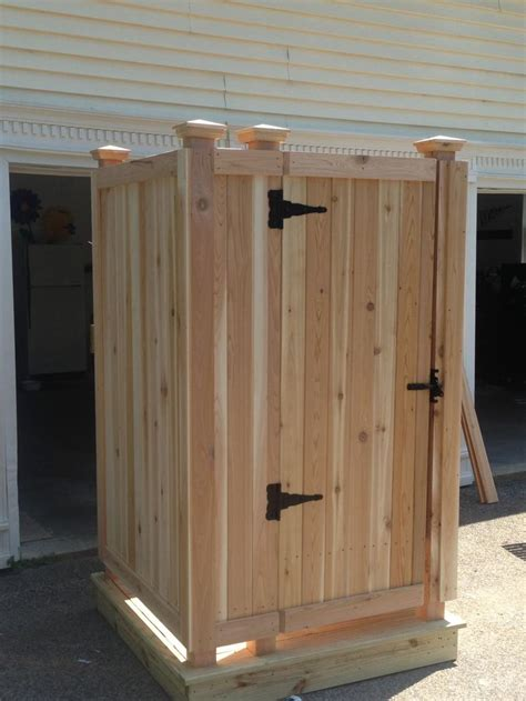 Outdoor Shower Doors Cape Cod Outdoor Shower Company Modular Outdoor Shower Enclosures Prebuilt Delivered To Your