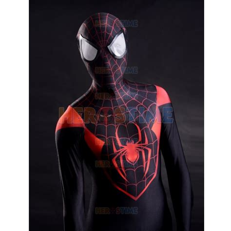 Pdf Spider Morales Suit by Ultimate Morales Spider 3d Printed Costume