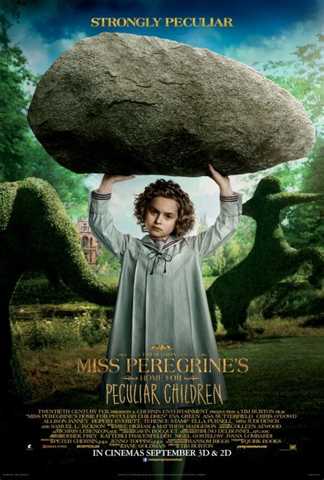miss peregrine s home for peculiar children strong